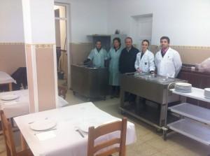 Comedor social leon padre Jose vicente Rdrgz y equipo
