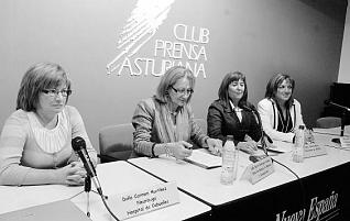 OVIEDO,22/09/2009.- CLUB PRENSA SOBRE EL DIA MUNDIAL DEL ALZHEIMER.