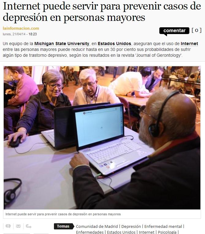 internet y depresion