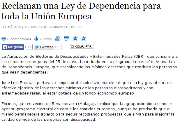 dependencia europea