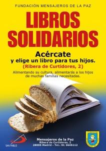 cartel libros solidarios bj