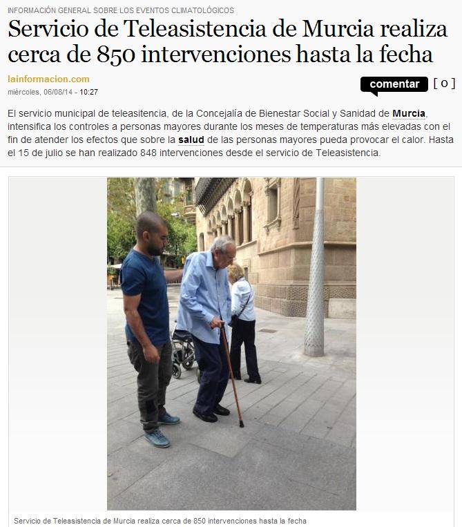 Teleasistencia Murcia