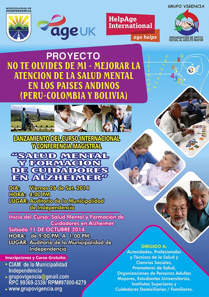 No te Olvides de Mí-Mejorar la Atención de la Salud Mental en los Países Andinos