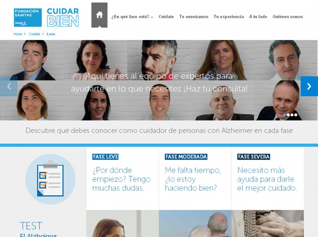 CuidarBien. Fundación Sanitas