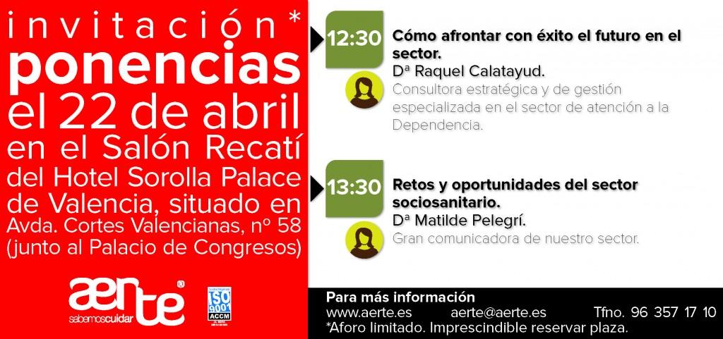 Invitacion ponencias