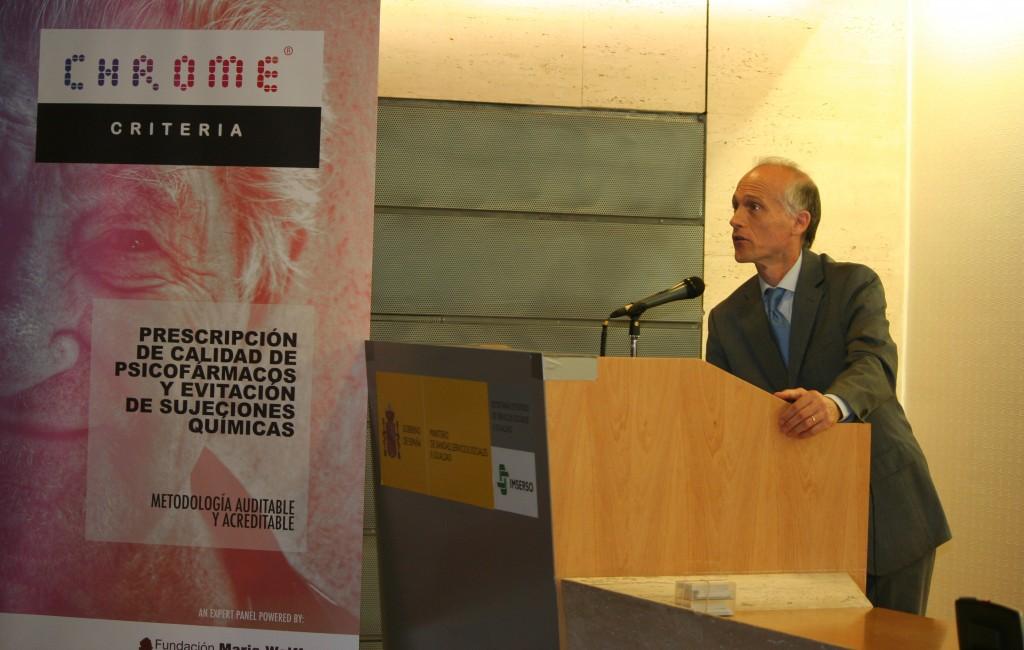 3 Dr. Olazarán Fundación Maria Wolff Criterios CHROME IMSERSO