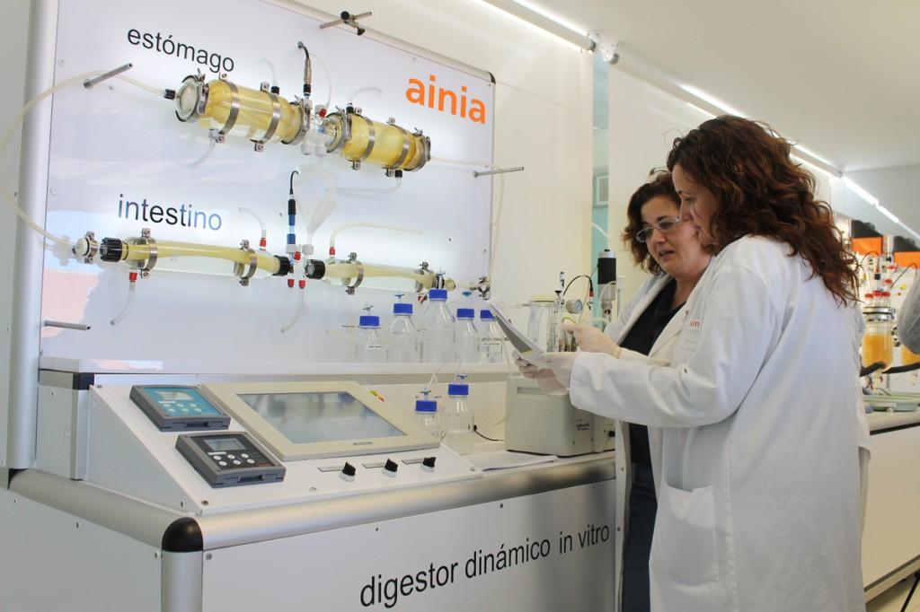 Digestor dinámico in vitro AINIA