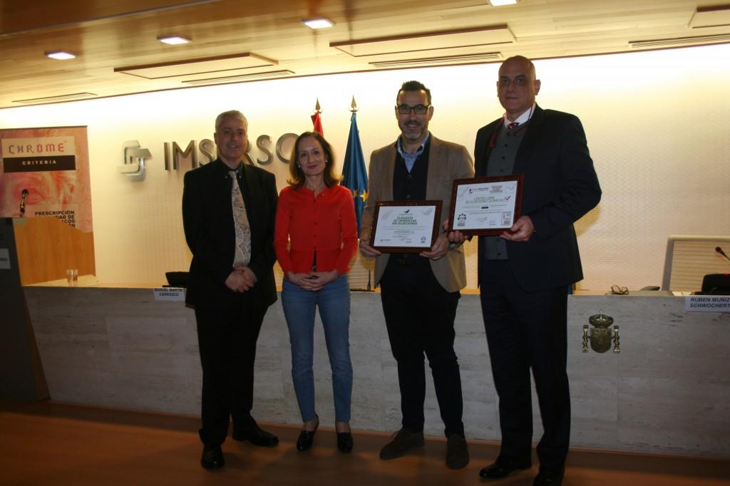 Entrega de acreditación a CSS El Pino - Grpo ICOT