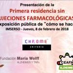 Jornada Residencia sin Sujeciones farmacologicas quimicas