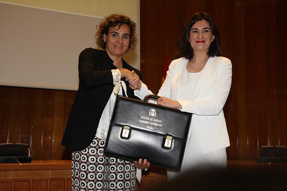 La nueva ministra de Sanidad, Consumo y Bienestar Social, Carmen Montón