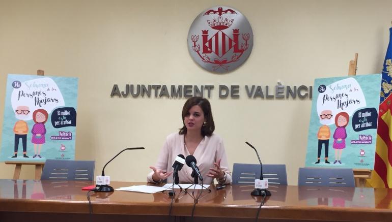 Concejala de Personas Mayores, Sandra Gómez